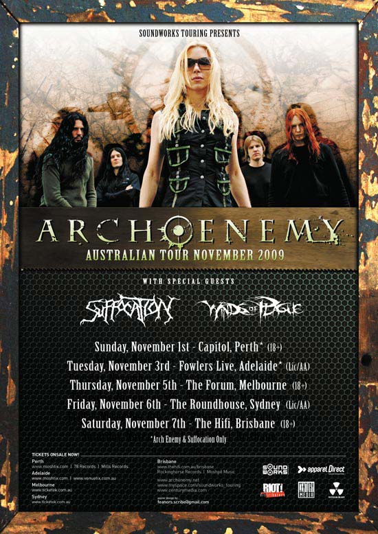 Arch Enemy & Suffocation
