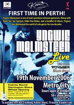 Malmsteen in Perth