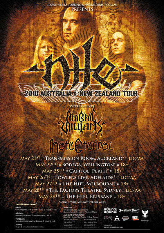 Nile Hate Eternal