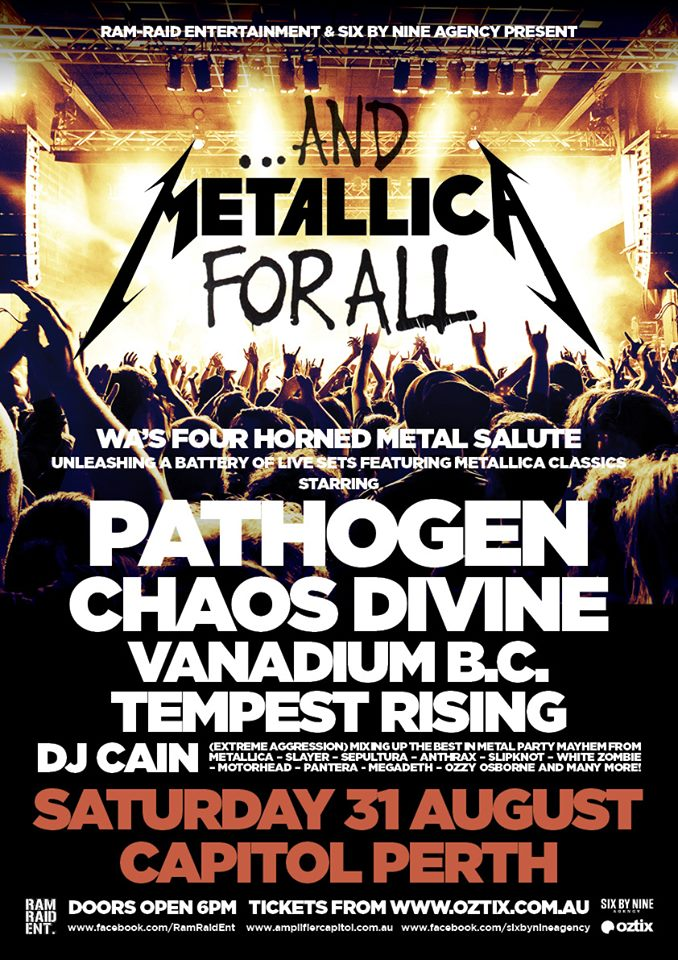 metallica tribute show