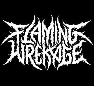 flaming wrekage featured logo
